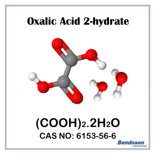 (P) Oxalic Acid 2-hydrate, BP, 500 gm, Bendosen