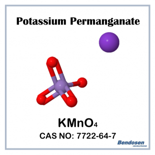 (P) Potassium Permanganate, 500 gm, Bendosen