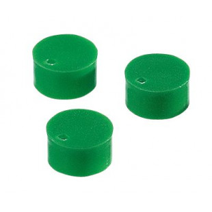 Corning® Green Polypropylene Cryogenic Vial Cap Inserts, Packaging: 50/bag, 1 bags/carton, 2018, Corning