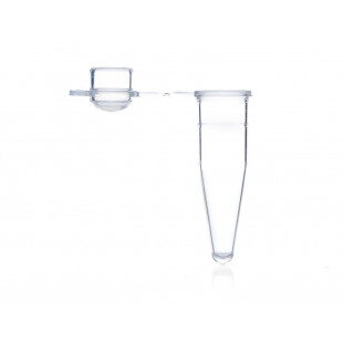 0.2 mL Thin Wall PCR Tubes with Domed Cap, Clear, Nonsterile 1000/bag, Axygen