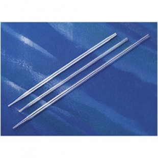 1 mL Aspirating Pipette, Polystyrene, Without Graduations, Bulk Packed, Sterile, Packing 50/bag, 1 bag/box, 4975, Corning