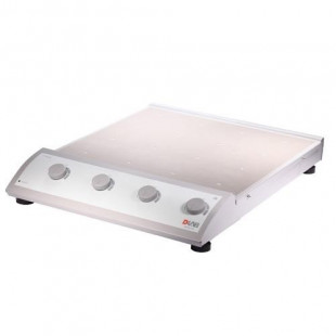 16-Position Classic Magnetic Stirrer (without hotplate), 4 Independent Speed Control Channels (4 Position Each Channel), MS-M-S16, Stainless Steel Plate with Silicone Cushion, 0-1100 rpm, DLAB4
