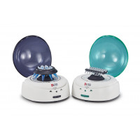 D1008 Series Palm Micro Centrifuge, Blue Lid or Green Lid, Max. Speed: 7000 rpm, Max. RCF: 2680xg, DLAB