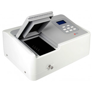Spectrophotometer, 325~1000nm Tungsten Lamp, Including 4 Glass Square Cuvettes (Package Contain), DLAB