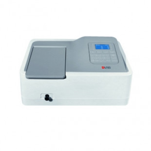 Spectrophotometer, 320~1100 nm Tungsten Lamp, Including 4 Glass Square Cuvettes (Package Contain), DLAB