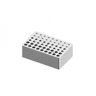 Heating Block Used for 0.2 mL, 0.5 mL and 1.5/2.0 mL Tubes, 18 Holes Each Volume for LED Digital Dry Bath, DLAB