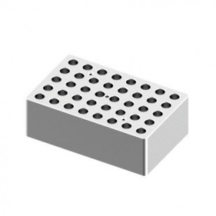 Heating Block Used for 1.5 mL Tubes, 40 Holes for LED Digital Dry Bath, DLAB