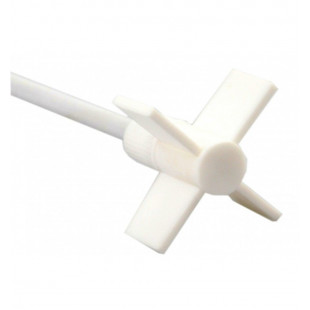 Crossed Stirrer, Shaft Length: 35 cm, Stirrer Diameter: 6.5 cm, PTFE Coated for Overhead Stirrer Series, DLAB
