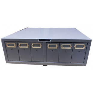 White, Beige, Green and Tan Colors for Wholesale Safe Chemical Slide Storage Cabinet, Four E's Scientific Co.