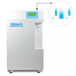 Medium-RS30 Double Stage Reverse Osmosis & Ultrapure Water System (Tap Water Inlet), Power: 240W, TOC*: <10ppb, No Endotoxin, No RNases, No DNases, HHitech