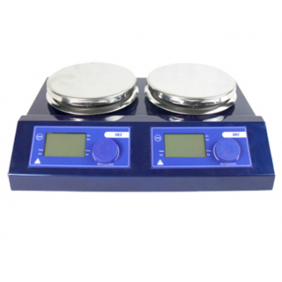 2 position Magnetic Stirrer with hotplate, 100-1500rpm