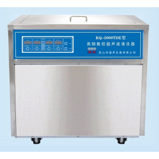 High-frequency CNC Ultrasonic Cleaning Machine KQ-2000TDE, Capacity: 160L, Ultrasonic Power: 2000W, Heating Power: 9000W