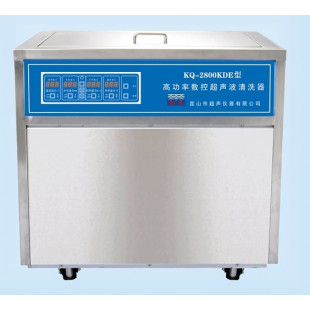 High-power CNC Ultrasonic Cleaning Machine  KQ-2800KDE, Capacity: 160L, Ultrasonic Power: 2800W