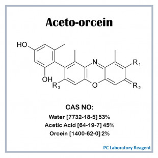 Aceto-orcein, 100 mL, PC Laboratory Reagent