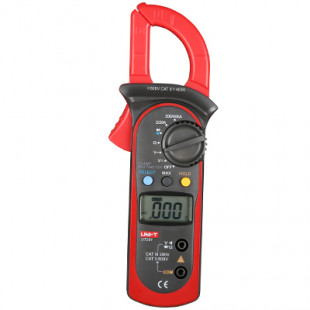 1000A Digital Clamp Meters UT206A, Temperature (°C): -40 °C~1000°C, 1000A AC Current, 4000 Display Count, LCD Backlight, Uni-T