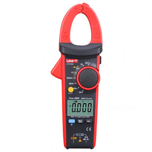600A True RMS Digital Clamp Meters UT216A, True RMS, Auto Range, 3/s Sampling Rate, MAX/MIN/Relative Modes, Uni-T