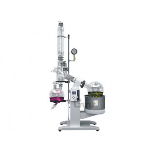 Rotary Evaporator, Collecting Bottle 10L, Elevating Stroke 0~190mm, Power of Power Supply 6.3KW, R-1020