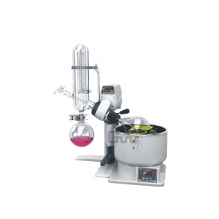 Rotary Evaporator, Lean type Water Refrigerating, Water Bath Volume 7.4L, R1001-LN