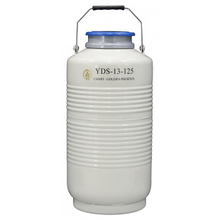 Large Caliber Liquid Nitrogen Cylinder, No Canister , Capacity 13L, Empty Weight 7.9kg, YDS-13-125, Chart