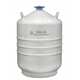Liquid Nitrogen Container for Storage, Capacity 31.5L, Empty Weight 15.5, YDS-30-200, Chart