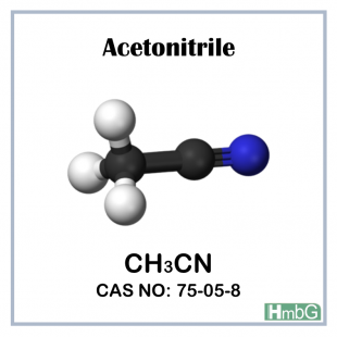 Acetonitrile (HPLC-Preparative) PAI, 2.5 L, HmbG