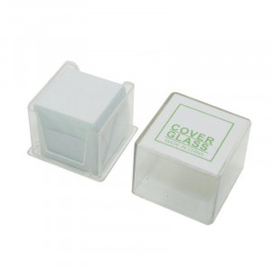 Cover Slip, 18 x 18, 0.13 - 0.16mm, Economy, HmbG (100pcs/box), Min Order: 5 boxes