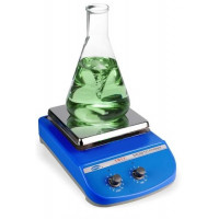 Flat Heating Magnetic Stirrer, 2 L, Heating Area: 175 x 175 mm, Ceramic Plate, Smith
