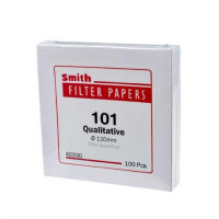 Filter Paper 101 Qualitative High Speed, D-11.0 cm, 100pcs/box, Smith (5pcs/pack)