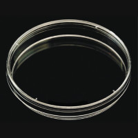 Petri Dish, 90 mm x 15 mm, 1 Room 4 Vents, Polystyrene, Non-Sterile (20pcs/pack, Min Order: 5 packs)