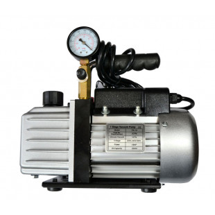 Vacuum Pump with Meter Gauge, Electric Operated, RS-1, 1.5 m3/h (0.16 HP, 120 W)