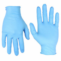 Safety Disposable Glove Nitrile, Powder Free, Size: S (100pcs/box)