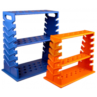 Rack for Pipette, 30 Places, Vertical / Horizontal, Plastic