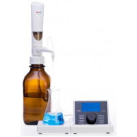 Digital Burette, 0.01-99.99 ML, Maximum Piston Lift 10 mL, Resolution 10 µL, DLAB