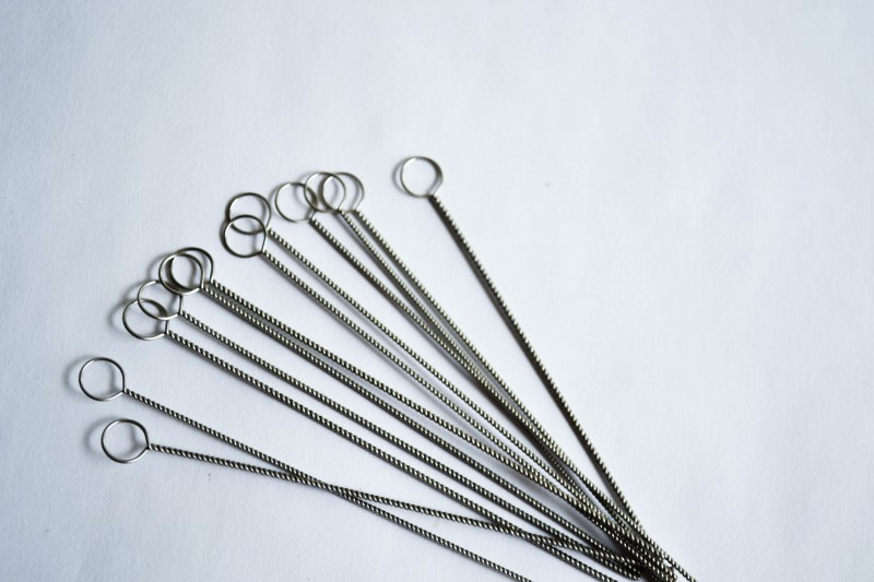 Inoculating Loop Holder with Nichrome Wire Loop, ID-2.5 mm x 50 mm ...